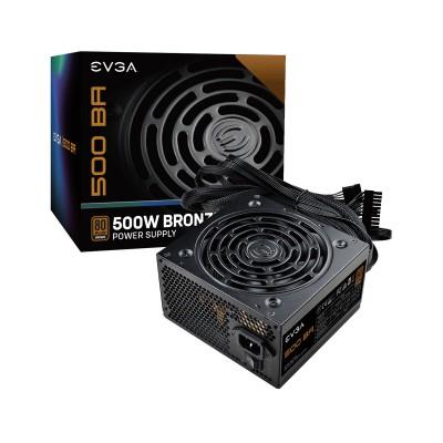Power Supply EVGA 500 BR 500W 80 Plus Bronze