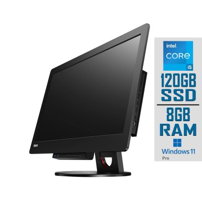 """All-In-One Lenovo ThinkCentre Tiny-in-One 23"""" i5-4590T SSD 120GB/8GB Refurbished"""