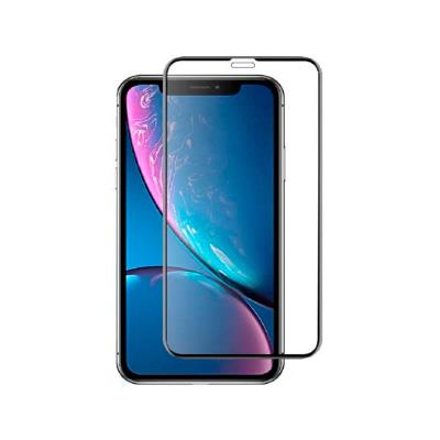 Tempered Glass Film iPhone XR/11 Fullscreen Black