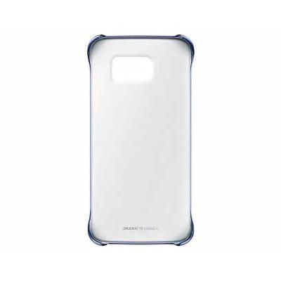 Capa Hard Original Samsung S6 Edge Transparente/Preta (EF-QG925BBE)