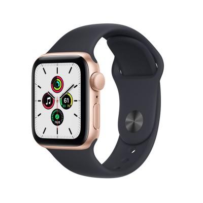Smartwatch Apple Watch SE 40 mm GPS + Cellular c/Bracelete Desportiva Preto Meia-Noite