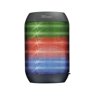 Bluetooth Speaker Trust Ziva With Party Lights Black
