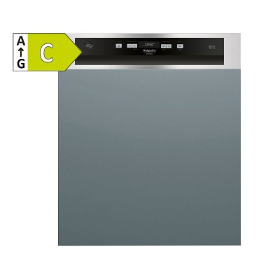 Built-in Dishwasher Hotpoint 14 Sets Stainless Steel (HBC3C41W)