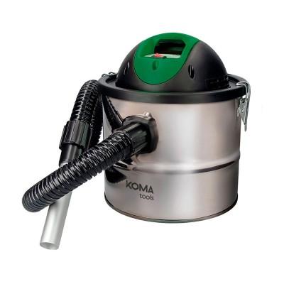 Aspirador de Cinzas EDM Koma 10L 800W Cinzento
