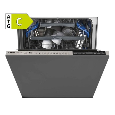 Built-in Dishwasher Candy 16 Conjuntos Silver (CDIMN4S622PS/E)