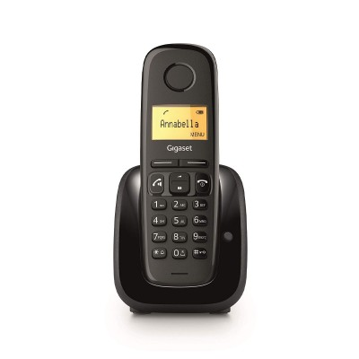 Cordless Landline Phone Siemens Gigaset A280 Black