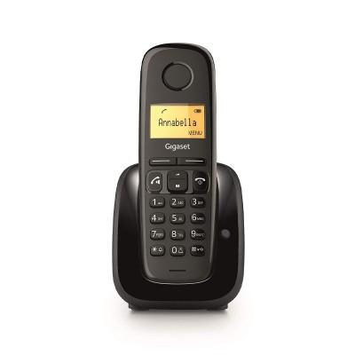 Telefone Fixo Sem Fios Siemens Gigaset A280 Preto