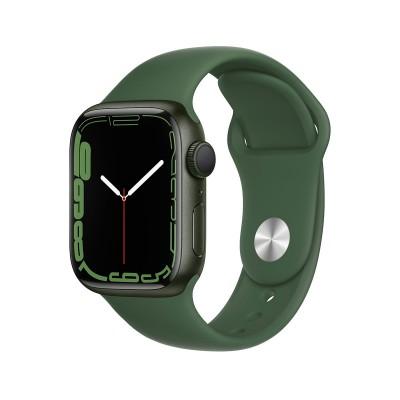 Smartwatch Apple Watch Series 7 GPS 41mm Green Aluminum w/ Trevo Sport Bracelet