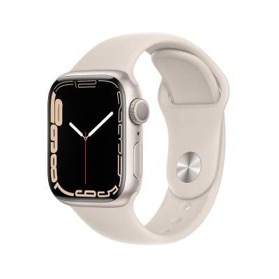 Smartwatch Apple Watch Series 7 GPS 41mm Aluminio Starlight con Brazalete Deportivo Starlight