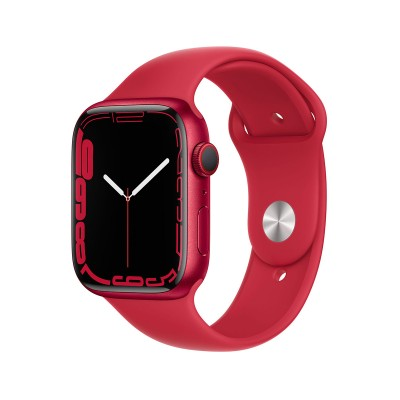 Smartwatch Apple Watch Series 7 GPS+Cellular 45mm Aluminum (Product) Red w/ Sport Bracelet (Product) Red