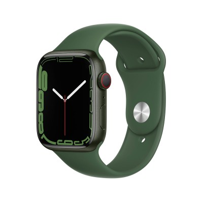 Smartwatch Apple Watch Series 7 GPS+Cellular 45mm Green Aluminum w/ Trevo Sport Bracelet