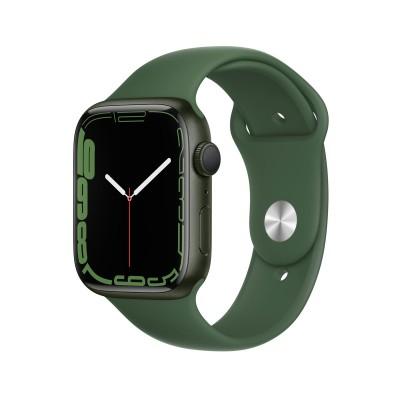 Smartwatch Apple Watch Series 7 GPS 45mm Green Aluminum w/ Trevo Sport Bracelet