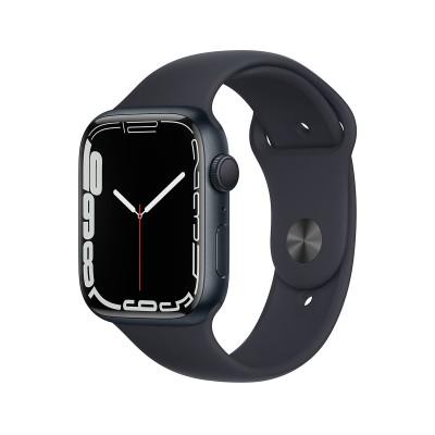 Smartwatch Apple Watch Series 7 GPS 45mm Aluminio Medianoche con Brazalete Deportivo Medianoche