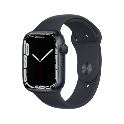 Smartwatch Apple Watch Series 7 GPS 45mm Midnight Aluminum w/ Midnight Sport Bracelet