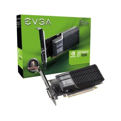 Graphics Card EVGA Geforce GT1030 SC 2GB GDDR5 Low Profile