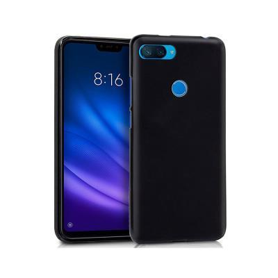 Funda Silicona Xiaomi Mi 8 Lite Negro