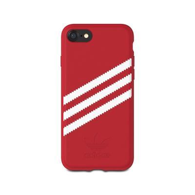 Capa Proteção Adidas Gazelle 3 Riscas Iphone 6/7/8 Vermelha