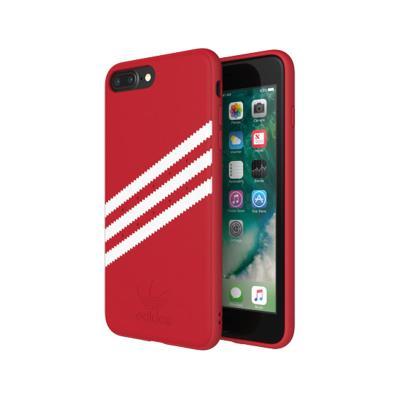 Funda Protección Adidas Gazelle 3 Riscas Iphone 6/7/8 Plus Rojo