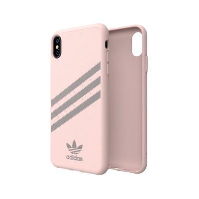 Capa Proteção Adidas Gazelle iPhone XS Max FW18 3 Risca Rosa