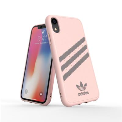 Protective Adidas Gazelle FW18 Case 3 Pinstripe Iphone XR Pink