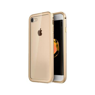 Okkes Super Slim Hard Case iPhone 7/8 Transparent/Beige