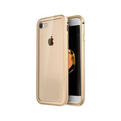 Okkes Super Slim Hard Case iPhone 7/8 Transparent/Beige