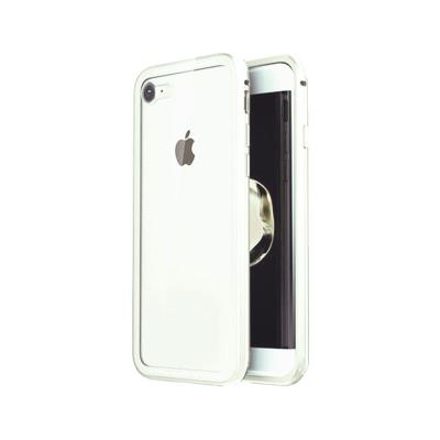 Okkes Super Slim Hard Case iPhone 7/8 Transparent/White