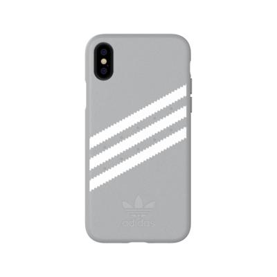 Protective Adidas Gazelle FW18 3 Layer Iphone X / XS Gray Stripes