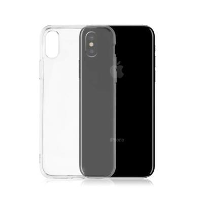Okkes Air Silicone Case iPhone XS Max Transparent