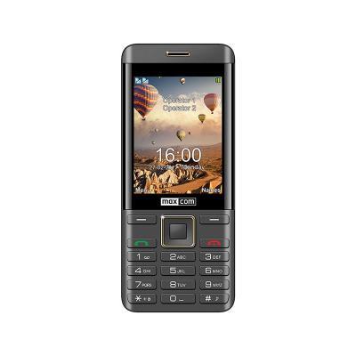 Maxcom MM236 Dual SIM Preto/Dourado