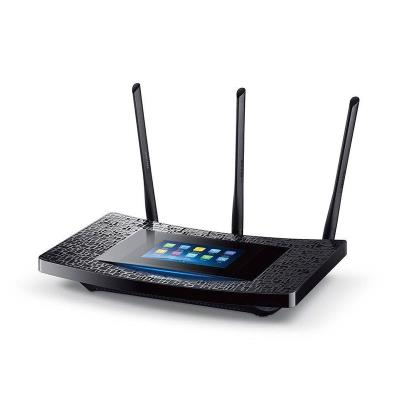 Router TP-Link Touch Screen Wi-Fi Gigabit Touch P5 Preto (AC1900)
