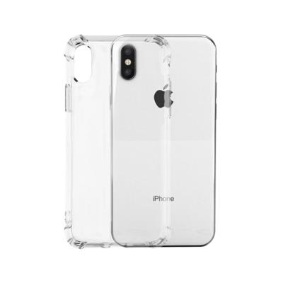 Okkes Jump Silicone Case iPhone XS Max Transparent