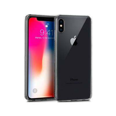 Okkes Air Plus Silicone Case iPhone X/XS Transparent