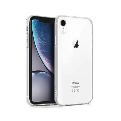 Okkes Air Silicone Case iPhone XR Transparent