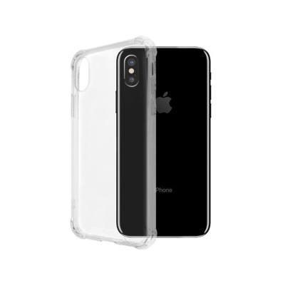 Capa Silicone iPhone X/XS Okkes Air Plus Jump Transparente