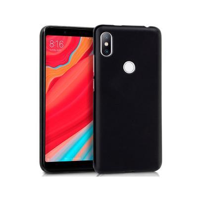 Capa Silicone Xiaomi Redmi S2 Preta