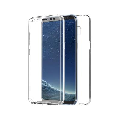Front and Back Silicone Case Samsung Galaxy S8 Transparent (G950)