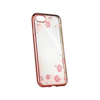 Funda Silicona Con Brillantes Xiaomi Redmi 6A Rosa Dorado