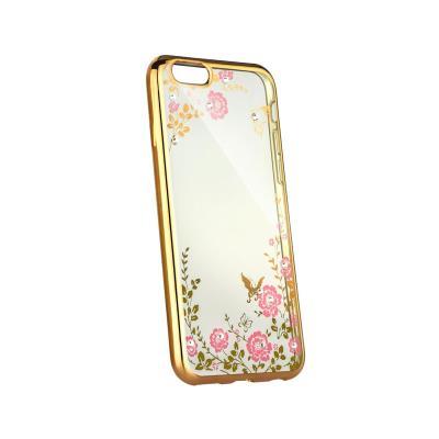 Silicone With Shiny Case Xiaomi Redmi 6A Gold