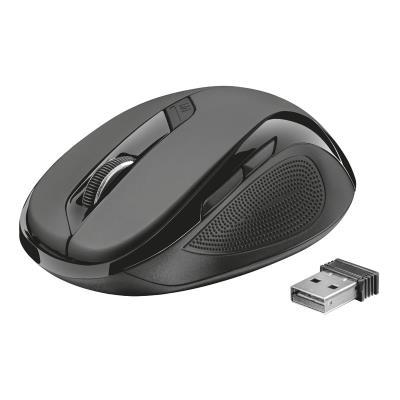 Mouse Trust  ZIVA Wireless Optical 5 Botões (21949)