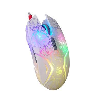 Rato Bloody N50 Neon Gaming Branco