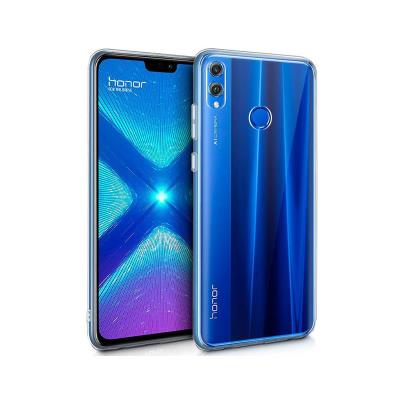 Silicone Cover Huawei Honor 8X Transparent