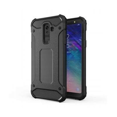 Protective Armor Cover Forcell Samsung A6 Plus 2018 (A605) Black