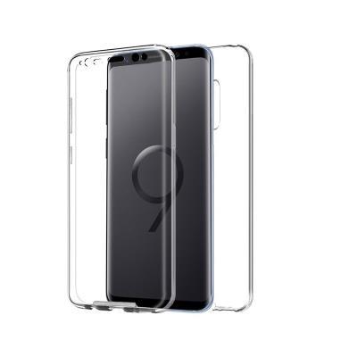 Capa Silicone Frente e Verso Samsung S9 Plus Transparente