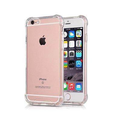 Silicone Case iPhone 6S Plus Transparent (Roar Anti-Shock)