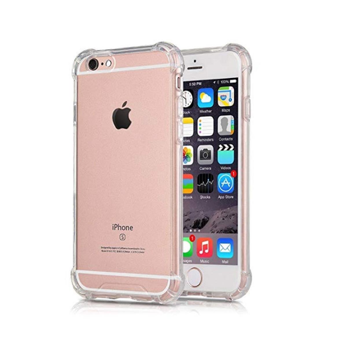 decf1cb869c Compre online Funda Silicona iPhone 6S Plus Transparente (Roar Anti-Choque)