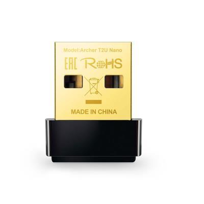 Adaptador USB Wi-Fi TP-Link Archer T2U AC600 Nano