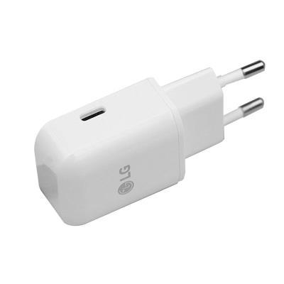 Adaptador De Corriente LG USB-C Blanco (MCS-ER)