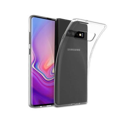 Funda Silicona Samsung Galaxy S10 Plus Transparente