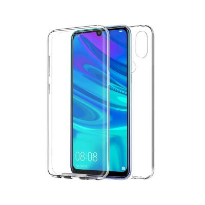 Front and Back Silicone Case Huawei P Smart 2019 Transparent